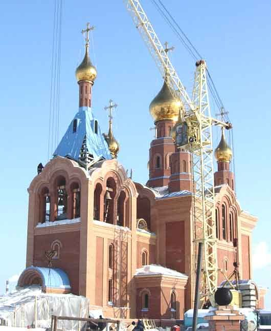 Храм в честь святителя Николая архиепископа Мир Ликийских чудотворца п. Излучинск