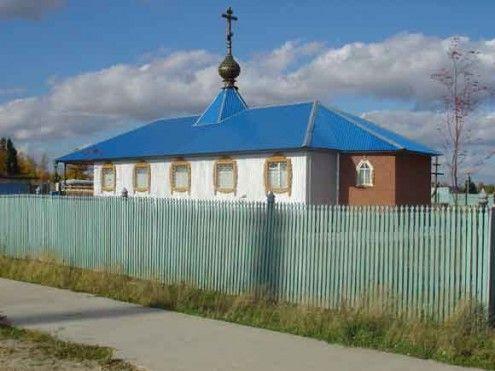 Храм в честь Сретения Господня п. Каркатеевы