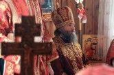 Архипастырская визит в поселок Малиновский