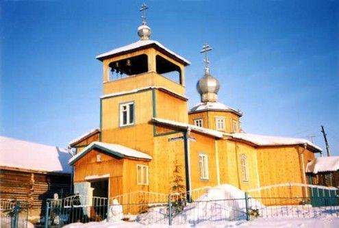 Храм в честь Рождества Пресвятой Богородицы п. Малиновский