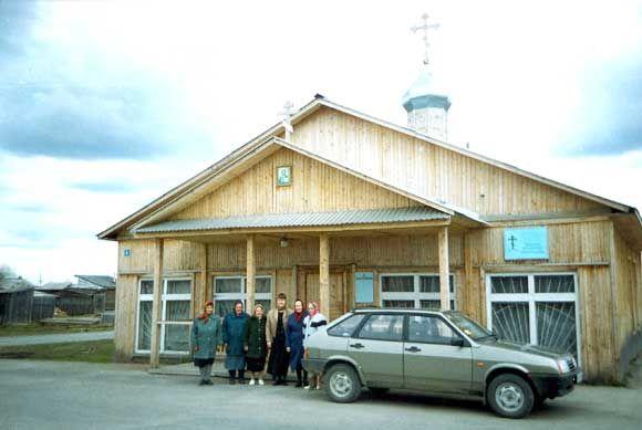 Храм Покрова Божией Матери п. Мортка
