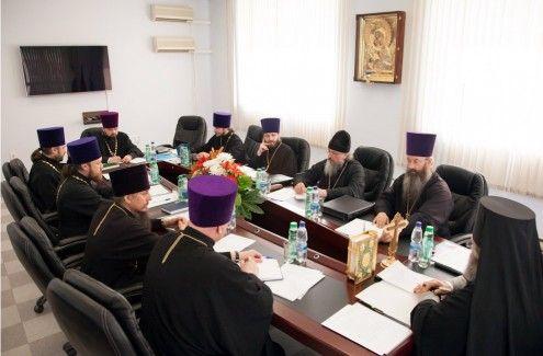 В Ханты-Мансийской епархии состоялось заседание епархиального совета