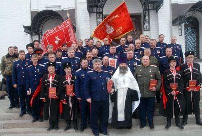 В Вербное воскресенье более 50 казаков из Нефтеюганска, Чеускино и Пыть-Яха приняли присягу на верность Богу, Отечеству и казачеству