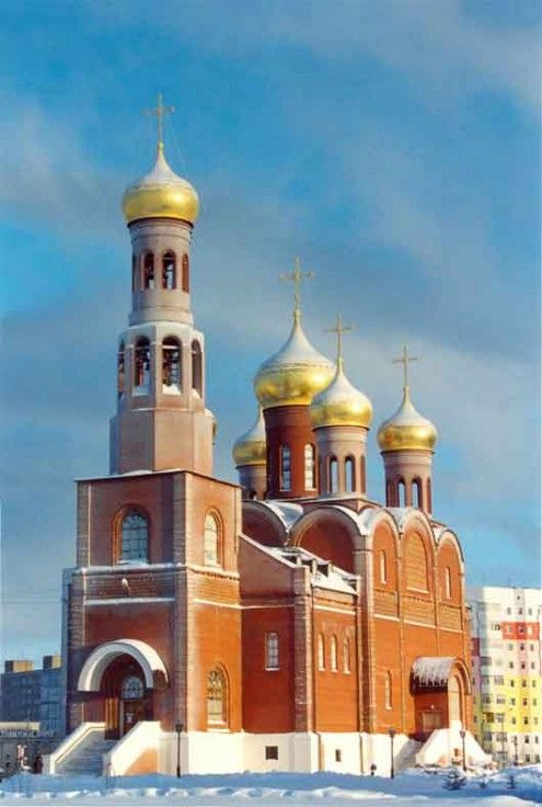 Храм в честь Рождества Христова г. Нижневартовск