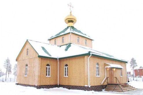 Храм во имя святителя Тихона, Патриарха Всероссийского п. Нижнесортымский