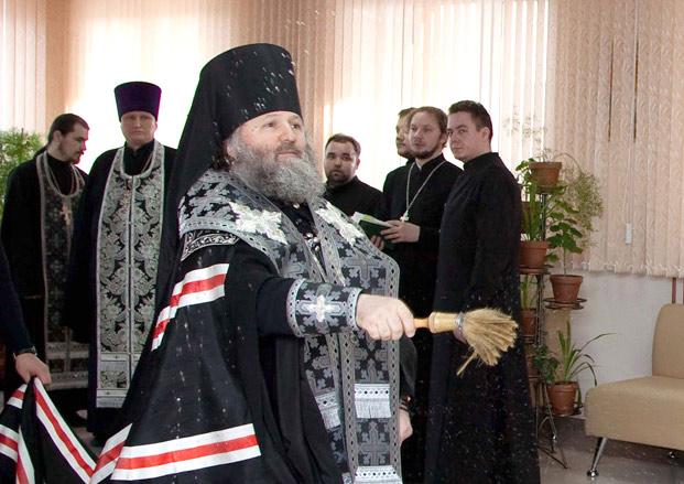 Епископ Павел освятил онкологический центр г. Ханты-Мансийска