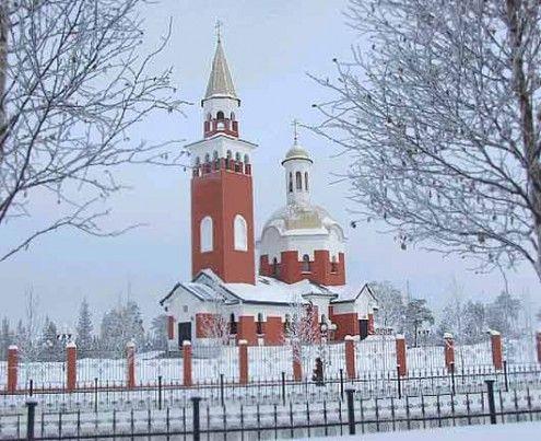 Храм в честь Покрова Божией Матери г. Покачи