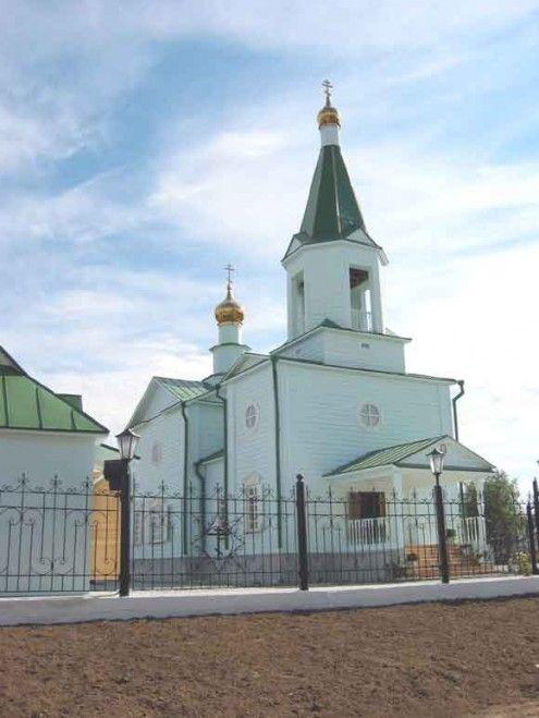 Храм в честь Успения Пресвятой Богородицы с. Селиярово