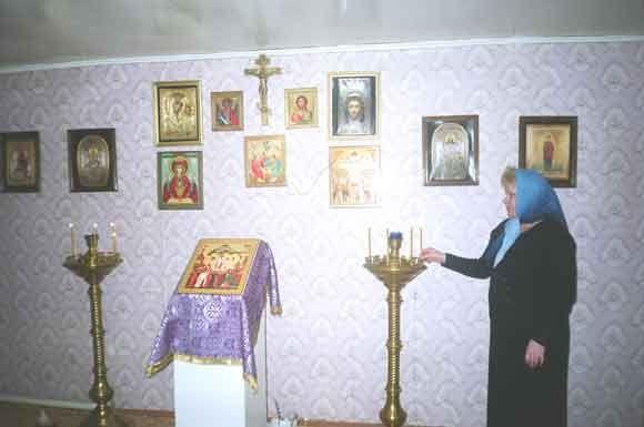 Храм в честь Воздвижения Креста Господня п. Сентябрьский