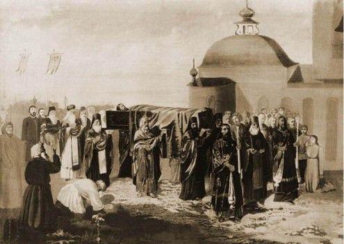 Перенесение мощей св. Симеона в 1704 г
