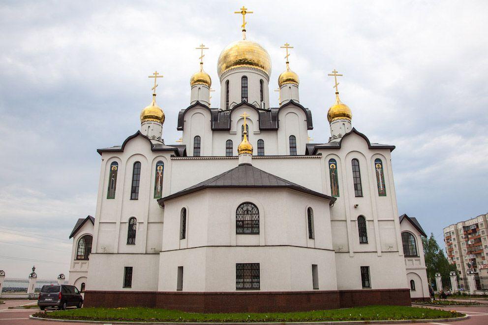 День Святой Троицы в Сургуте