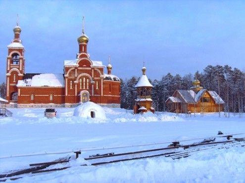Храм святого преподобного Серафима Саровского п. Талинка