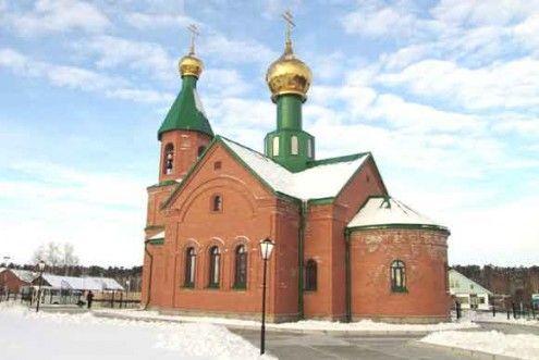 Храм во имя преподобного Серафима Саровского п. Чеускино