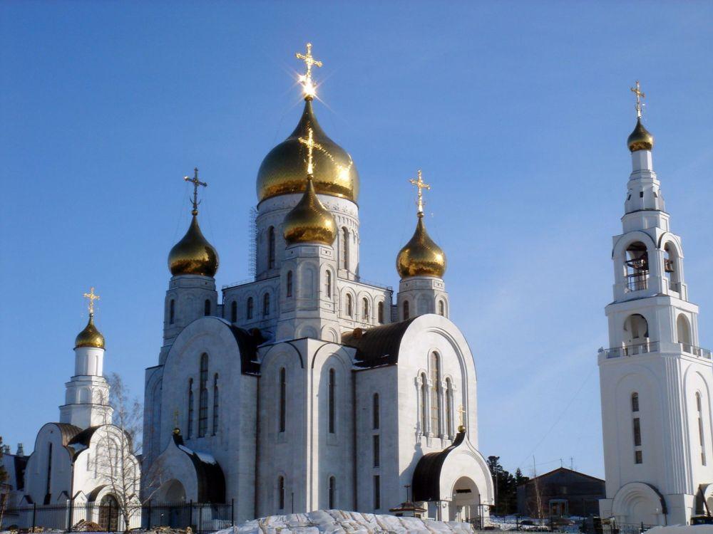 Храм во имя Воскресения Христова г. Ханты-Мансийск