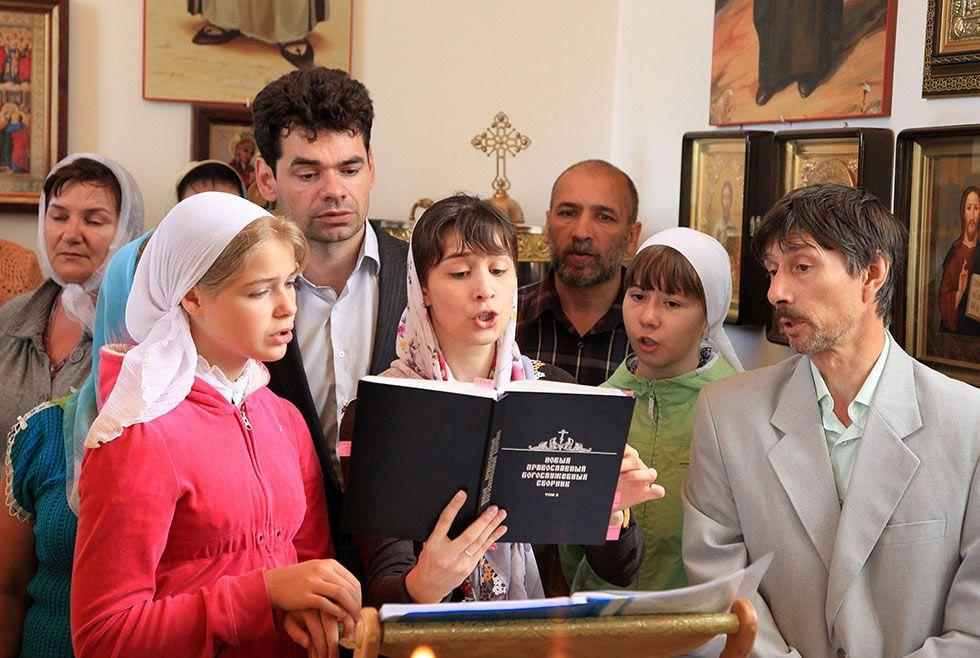 Престольный праздник в храме святого праведного Артемия Веркольского г. Ханты-Мансийска