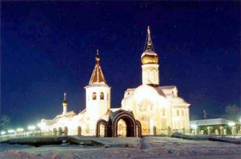 Храм преподобного Сергия Радонежского г. Югорск