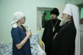 6 января. Поздравление с наступающим Рождеством Христовым работников и пациентов Окружной клинической больницы г. Ханты-Мансийск